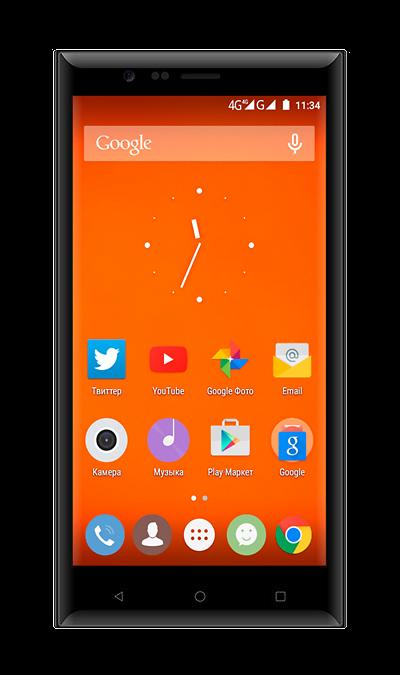 Highscreen Boost 3Смартфоны<br>2G, 3G, 4G, Wi-Fi; ОС Android; Камера 13 Mpix, AF; Разъем для карт памяти; MP3, FM,  GPS / ГЛОНАСС; Вес 145 г.<br><br>Colour: Черный