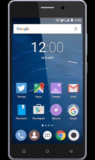 Highscreen Power IceСмартфоны<br>2G, 3G, 4G, Wi-Fi; ОС Android; Дисплей сенсорный емкостный 16,7 млн цв. 5; Камера 8 Mpix, AF; Разъем для карт памяти; MP3, FM,  GPS / ГЛОНАСС; Вес 182 г.<br><br>Colour: Синий