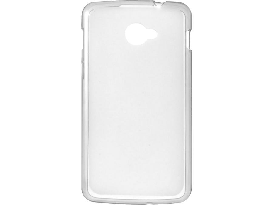 Чехол-крышка Highscreen для Spark 2, силикон, прозрачный