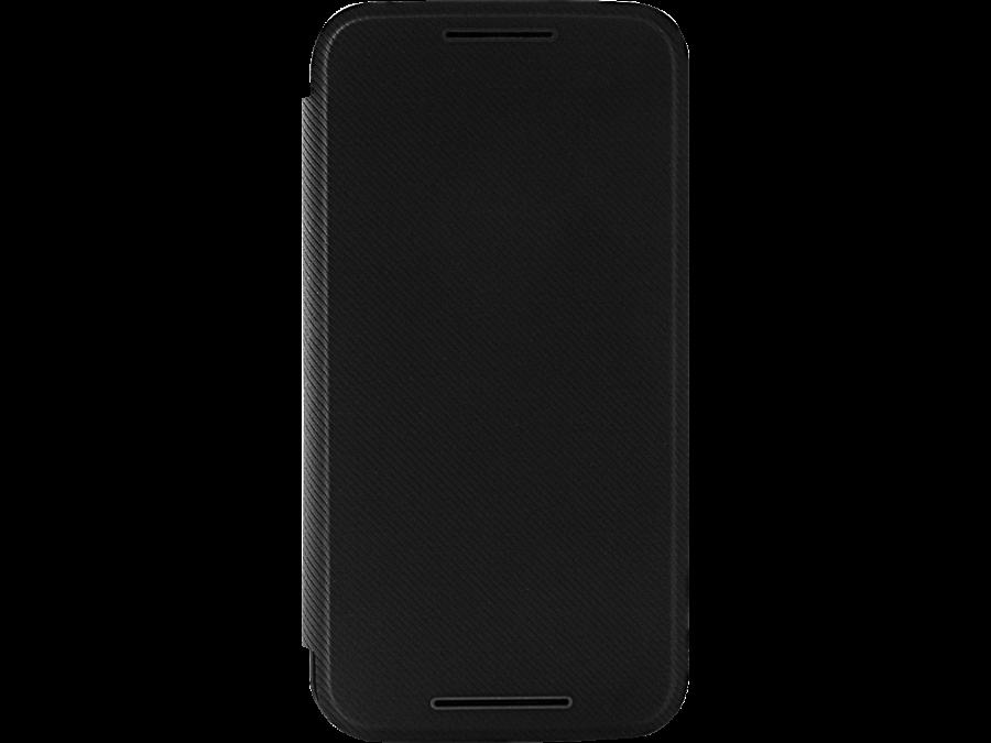 Чехол-книжка Moto G, поликарбонат / полиуретан, черный (оригинальный)