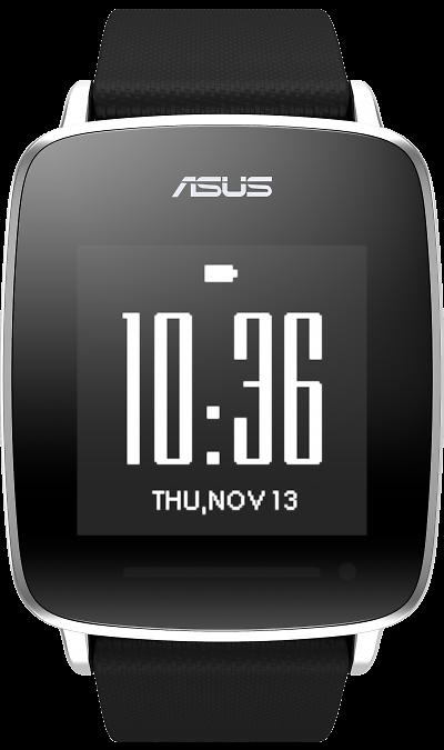 Фитнес-браслет ASUS VivoWatch (HC-A01)Фитнес-устройства<br>Разрешение - 128х128 пикселей.<br>Низкое энергопотребление.<br>Защитное стекло Corning Gorilla 3.<br>Поддержка операционных систем: Android 4.3 и Apple iOS 8.1 (или выше).<br>Извещения о звонках.<br>Текстовые извещения.<br><br><br>Технология ASUS VivoPulse.<br>Bстроенный датчик частоты пульса помогает более эффективно выполнять физические упражнения, отслеживать количество расходуемых калорий и измерять качество сна.<br><br>Аэробный индикатор частоты ...<br><br>Colour: Черный
