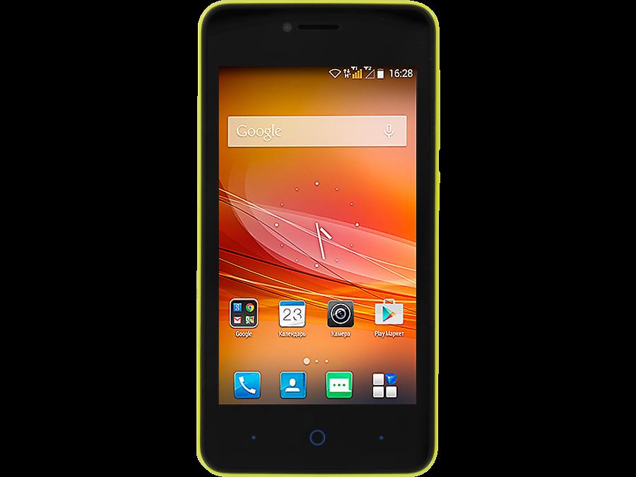 Школьный комплект: смартфон ZTE Blade A5 Pro Yellow + бонус 300 на счет