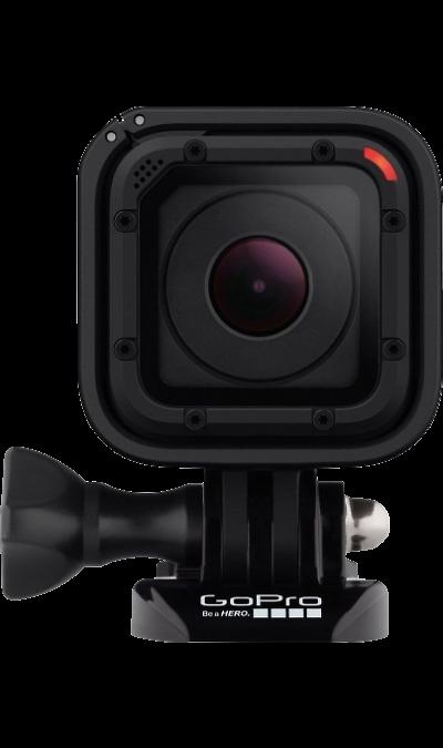 GoPro HERO4 SessionФото и видео<br>Самая маленькая и технически удобная экшн-камера GoPro Session. Для высококачественной видео и фотосъемки. Session не требует защитного бокса, так как сама по себе является водонепроницаемой и ударостойкой. Камера оснащена встроенным Wi-Fi и её легко можно подключить к пульту Wi-Fi Remote, а так же к смартфону, и управлять камерой дистанционно. Карта памяти в комплект не входит.<br><br>Камеры GoPro ещё меньше ещё легче.<br>На 50% меньше и на 40% легче, чем все остальные камеры ...<br><br>Colour: Черный