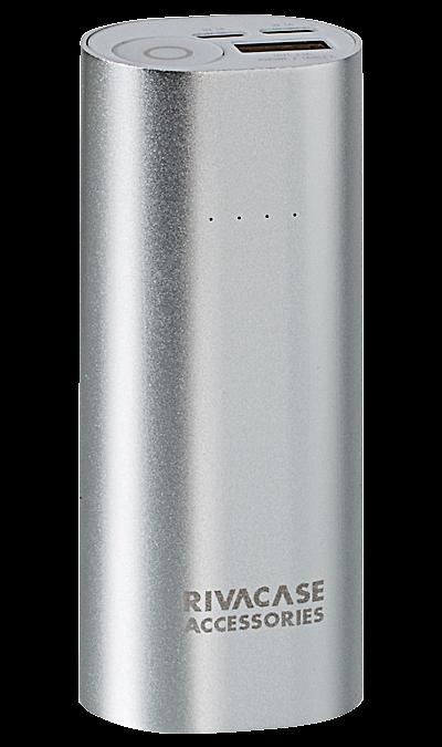 Аккумулятор RIVACASE VA1005, Li-Ion, 5000 мАч (портативный)Аккумуляторы внешние<br>Литий-ионный внешний аккумулятор емкостью 5000мАч.<br>Два входа для заряда аккумуляторной батареи через кабель с Micro USB разъемом или через оригинальный кабель Apple Lightning.<br>Совместимость с наиболее популярными мобильными устройствами, в том числе и с iPhone, iPad.<br>Микро USB кабель для зарядки и синхронизации и Apple Lightning адаптер в комплекте.<br>Автоматическое включение/выключение. Подключите мобильное устройство к аккумулятору и зарядка начнется.<br>Четыре светодиодных ...<br><br>Colour: Серебристый