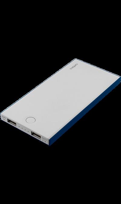 Аккумулятор Rombica NEO NS100B, Li-Pol, 10000 мАч, синий (портативный)Аккумуляторы внешние<br>Резервный аккумулятор Rombica - устройство, предназначенное для зарядки портативных устройств без помощи электрической сети. Особенно актуален для путешественников и туристов в местах, где невозможен или ограничен доступ к электроэнергии. Резервный аккумулятор подходит для портативных устройств, таких как смартфоны, планшеты, мобильные телефоны и МР3-плееры.<br><br>LED индикатор оставшегося заряда;<br>Множественная система защиты для безопасной зарядки устройств;<br>Ультратонкий и легкий ...<br><br>Colour: Серый