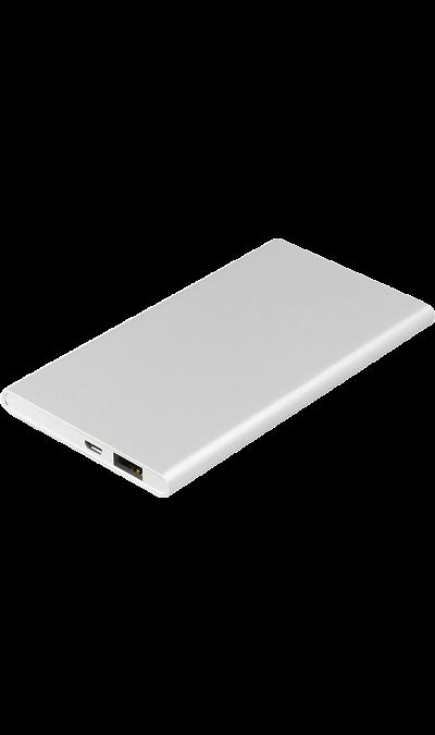 Аккумулятор Rombica NEO AX70, Li-Ion, 7000 мАч, серебристый (портативный)Аккумуляторы внешние<br>Резервный аккумулятор Rombica - устройство, предназначенное для зарядки портативных устройств без помощи электрической сети. Особенно актуален для путешественников и туристов в местах, где невозможен или ограничен доступ к электроэнергии. Резервный аккумулятор подходит для портативных устройств, таких как смартфоны, планшеты, мобильные телефоны и МР3-плееры.<br><br>LED индикатор оставшегося заряда;<br>Множественная система защиты для безопасной зарядки устройств;<br>Алюминиевый корпус с эффектом ...<br><br>Colour: Серебристый