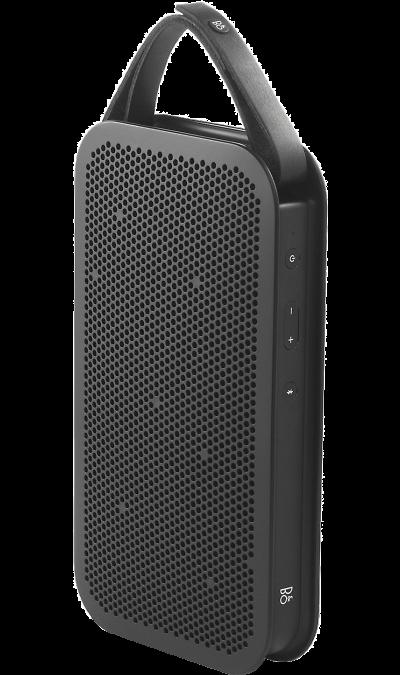 Bang &amp; Olufsen BeoPlay A2Портативная акустика<br>Подключите музыку и наслаждайтесь звуком лучшего качества.<br>Великолепное сочетание уникального дизайна и отличного звука! Всенаправленный звук, чистое звучание вокала, глубокие и насыщенные басы.<br><br><br>поддержка Bluetooth;<br>регулировка громкости;<br>24 часа работы в режиме воспроизведения музыки.<br><br>Colour: Черный