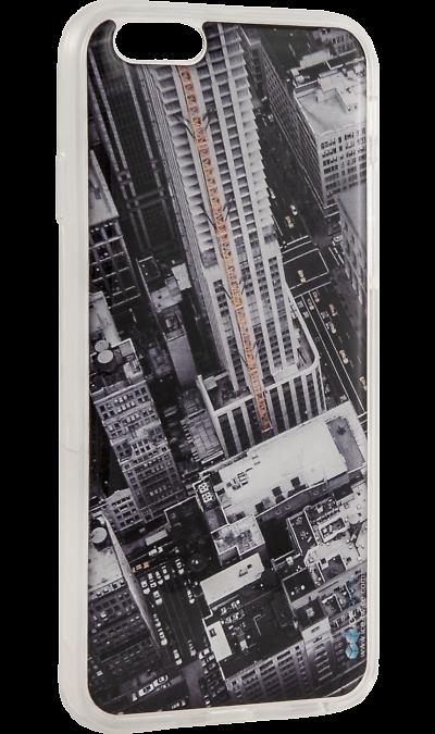 Ice Twice Чехол-крышка Ice Twice Города для Apple iPhone 6/6S, силикон twice