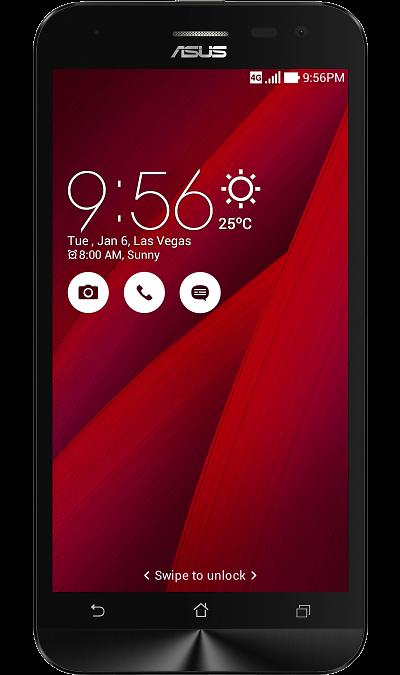 ASUS Zenfone 2 Lazer ZE500KL 16GbСмартфоны<br>2G, 3G, 4G, Wi-Fi; ОС Android; Дисплей сенсорный 16,7 млн цв. 5; Камера 13 Mpix, AF; Разъем для карт памяти; MP3, FM,  GPS / ГЛОНАСС; Вес 146 г.<br><br>Colour: Красный