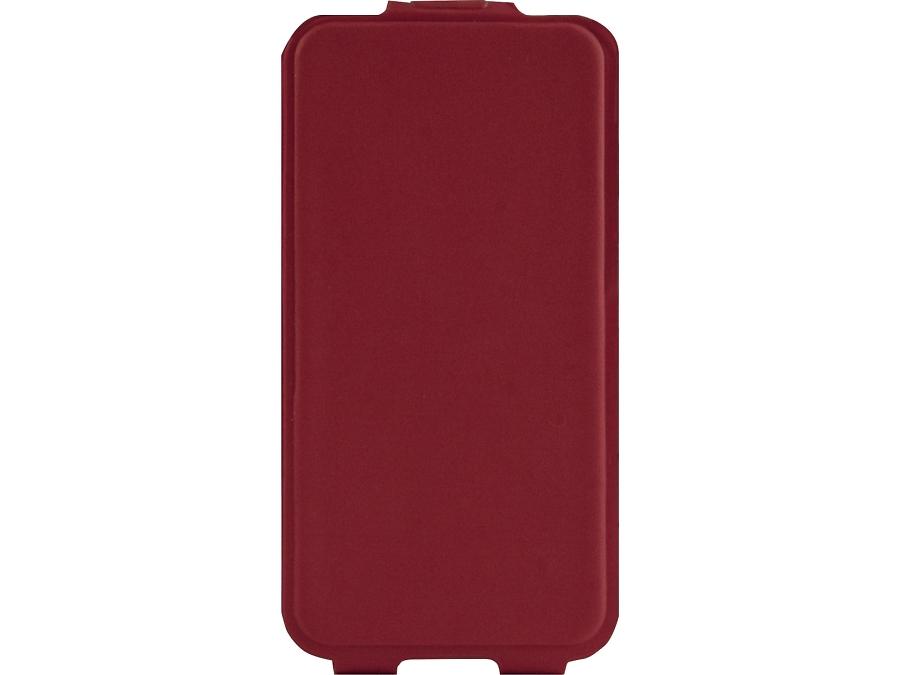 Чехол-книжка MegaCase для ZTE Blade A5 Pro, полиуретан, красный (вертикальный)