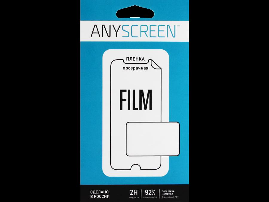 Защитная пленка Anyscreen для  Micromax Canvas Spark Q380 (прозрачная)