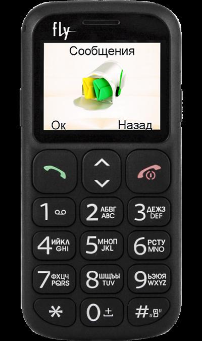 Fly Ezzy 7 BlackТелефоны<br>2G; Разъем для карт памяти; MP3, FM; Время работы 150 ч. / 2.5 ч.; Вес 81 г.<br><br>Colour: Черный