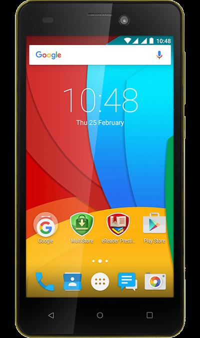 Prestigio Wize N3 3507 DUO YellowСмартфоны<br>2G, 3G, Wi-Fi; ОС Android; Камера 5 Mpix; Разъем для карт памяти; MP3, FM,  GPS; Вес 161 г.<br><br>Colour: Желтый