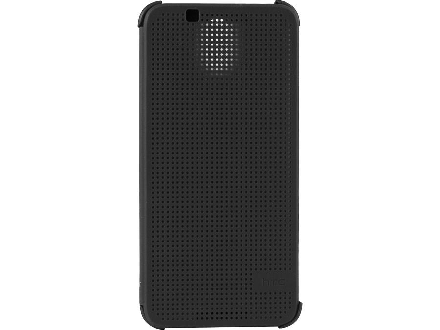 Чехол-книжка HTC для Desire 620 оригинальный, пластик / резина, серый