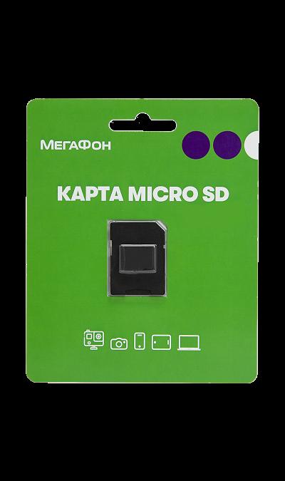 Карта памяти Apacer MicroSD XC 64 ГБ class 10 (с адаптером)Карты памяти<br>Карта памяти стандарта microSDXC Class 10 объемом 64 ГБ. Позволяет сохранять различные типы данных - как мультимедиа контент (звуки, мелодии, картинки, видеозаписи и пр.), так и всевозможные виды документов и файлов. При использовании входящего в комплект адаптера, карту можно подключать к любым устройствам, поддерживающим тип карт Secure Digital XC.<br>