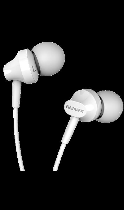 Проводная гарнитура Remax RM-501, стерео (белая)Наушники и гарнитуры<br>Удобный в использовании встроенный в кабель микрофон позволяет запросто отвечать на звонки, не вынимая смартфон из кармана или сумки. Завершив разговор можно легко вернуться к прослушиванию музыки благодаря встроенному в кабель пульту управления.<br><br>Colour: Белый