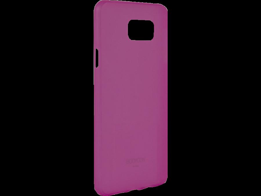 Чехол-крышка Uniq Bodycon для Samsung Galaxy A7, силикон, розовый