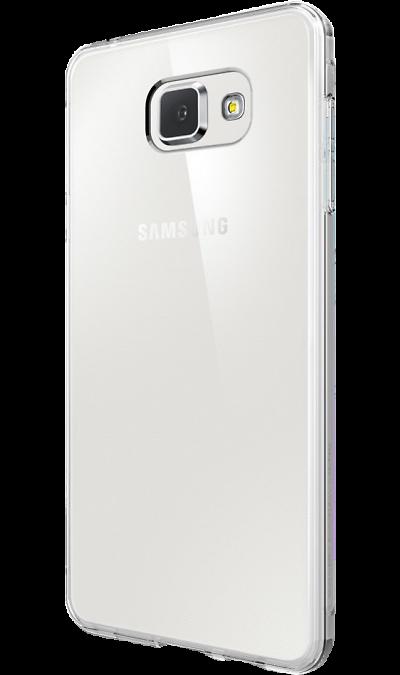 Uniq Чехол-крышка Uniq Bodycon для Samsung Galaxy A3, силикон, прозрачный acrylic diamond butterfly pattern plastic back case for blackberry 8520 8530 silver black