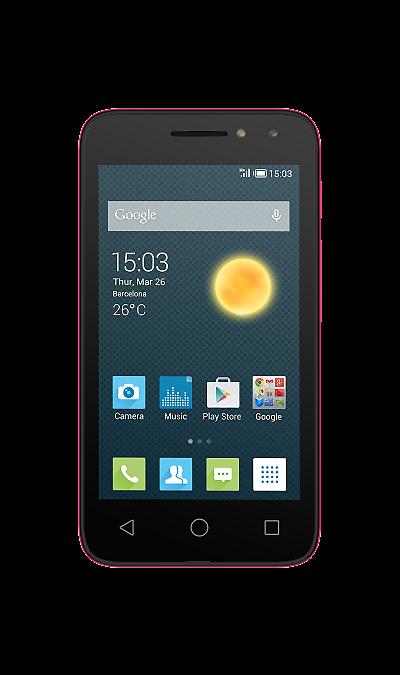 Alcatel PIXI 4 4034D Neon PinkСмартфоны<br>2G, 3G, Wi-Fi; ОС Android; Дисплей сенсорный емкостный 16,7 млн цв. 4; Камера 3 Mpix; Разъем для карт памяти; MP3, FM,  GPS; Время работы 300 ч. / 7.0 ч.; Вес 105 г.<br><br>Colour: Розовый