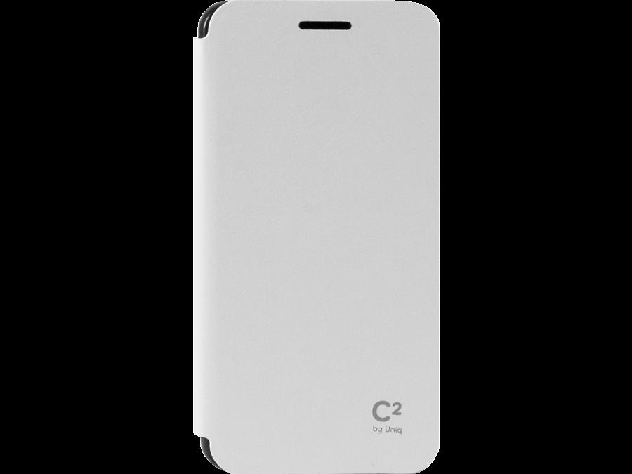 Чехол-книжка Uniq C2 для Samsung Galaxy A3, кожзам / пластик, белый