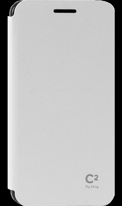 Чехол-книжка Uniq C2 для Samsung Galaxy A3, кожзам / пластик, белыйЧехлы и сумочки<br>Чехол поможет не только защитить ваш Samsung Galaxy A3 от повреждений, но и сделает обращение с ним более удобным, а сам аппарат будет выглядеть еще более элегантным. Предусмотрено отделение для кредитных карт.<br><br>Colour: Белый