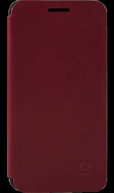 Чехол-книжка Uniq C2 для Samsung Galaxy A3, кожзам / пластик, красныйЧехлы и сумочки<br>Чехол поможет не только защитить ваш Samsung Galaxy A3 от повреждений, но и сделает обращение с ним более удобным, а сам аппарат будет выглядеть еще более элегантным. Предусмотрено отделение для кредитных карт.<br><br>Colour: Красный