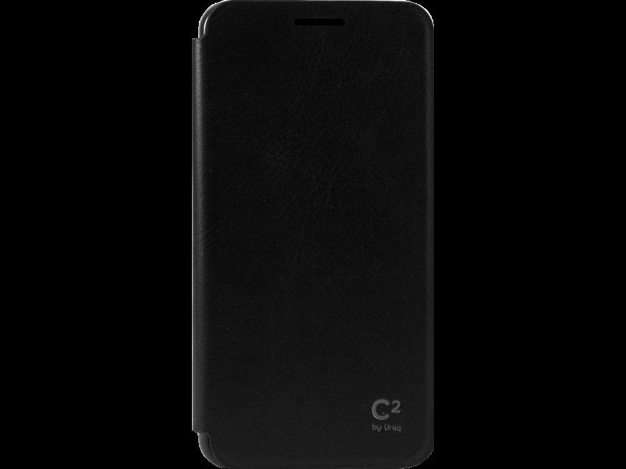 Чехол-книжка Uniq C2 для Samsung Galaxy A3, кожзам / пластик, черный