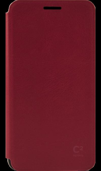 Чехол-книжка Uniq C2 для Samsung Galaxy A5, кожзам / пластик, красныйЧехлы и сумочки<br>Чехол поможет не только защитить ваш Samsung Galaxy A5 от повреждений, но и сделает обращение с ним более удобным, а сам аппарат будет выглядеть еще более элегантным.<br><br>Colour: Красный
