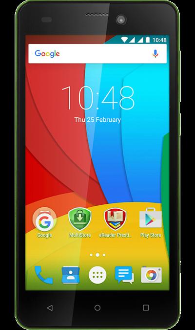 Prestigio Wize N3 3507 DUO GreenСмартфоны<br>2G, 3G, Wi-Fi; ОС Android; Камера 5 Mpix; Разъем для карт памяти; MP3, FM,  GPS; Вес 161 г.<br><br>Colour: Зеленый