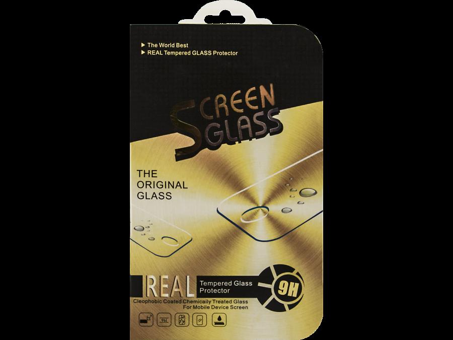 Защитное стекло Screen Glass для Apple iPhone 6 Plus с черной рамкой