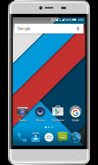 Highscreen Power RageСмартфоны<br>2G, 3G, Wi-Fi; ОС Android; Дисплей сенсорный емкостный 16,7 млн цв. 5; Камера 8 Mpix, AF; Разъем для карт памяти; MP3, FM,  GPS; Вес 201 г.<br><br>Colour: Белый