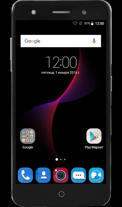 ZTE Blade V7 lite LTE GreyСмартфоны<br>2G, 3G, 4G, Wi-Fi; ОС Android; Дисплей сенсорный емкостный 16,7 млн цв. 5; Камера 13 Mpix, AF; Разъем для карт памяти; MP3, FM,  GPS; Вес 137 г.<br><br>Colour: Серый