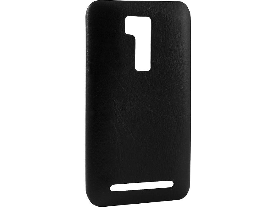 Чехол-крышка Laura Ponti для ASUS ZenFone Go ZB551KL, кожзам, черный