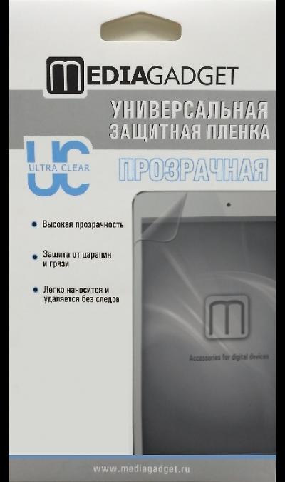 Media Gadget Защитная пленка Media Gadget 11 (универсальная) аксессуар защитная пленка универсальная media gadget premium 5 глянцевая mg264