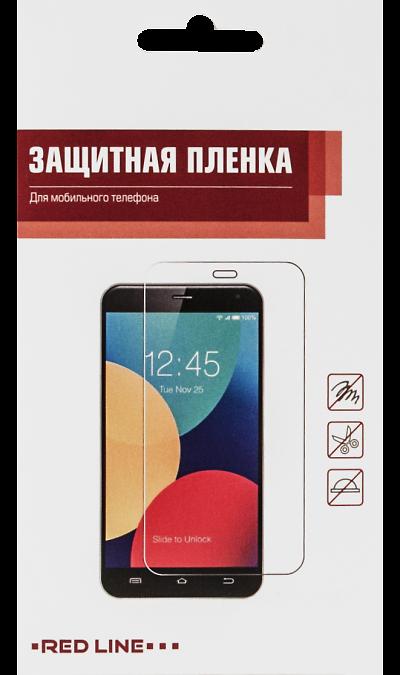 Защитная пленка RedLine для Microsoft Lumia 640 DS XLЗащитные стекла и пленки<br>Качественная защитная пленка прекрасно защищает дисплей от царапин и других следов механического воздействия. Она не содержит клеевого слоя и крепится на дисплей благодаря эффекту электростатического притяжения.<br>