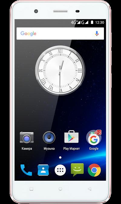 Highscreen TastyСмартфоны<br>2G, 3G, 4G, Wi-Fi; ОС Android; Дисплей сенсорный емкостный 16,7 млн цв. 5; Камера 8 Mpix, AF; Разъем для карт памяти; MP3, FM,  GPS / ГЛОНАСС; Вес 152 г.<br><br>Colour: Белый