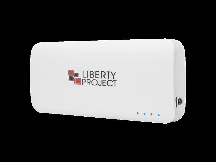 Аккумулятор Liberty Project, Li-Ion, 13000 мАч, белый (портативный)