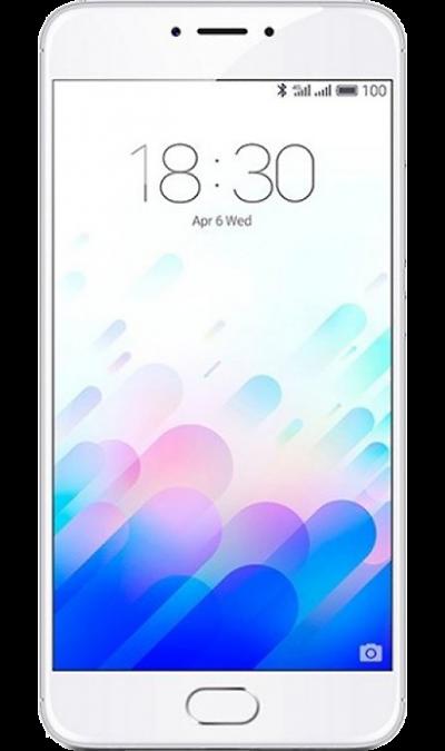 Meizu Meizu M3 Note 32Gb Silver смартфон meizu m3 note 32gb silver