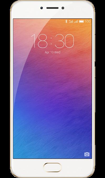 Meizu Pro 6 32GbСмартфоны<br>2G, 3G, 4G, Wi-Fi; ОС Android; Дисплей сенсорный 16,7 млн цв. 5.2; Камера 21.16 Mpix, AF; MP3,  GPS / ГЛОНАСС; Вес 160 г.<br><br>Colour: Золотистый