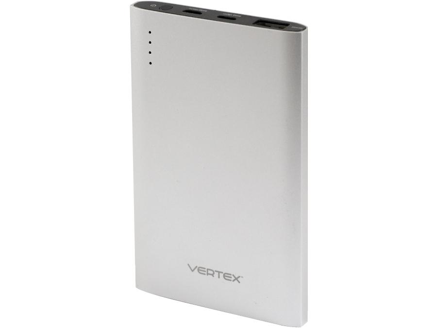 Аккумулятор Vertex, Li-Pol, 5000 мАч, серебристый (портативный)