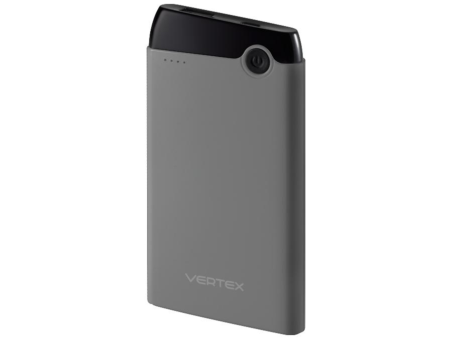 Аккумулятор Vertex, Li-Pol, 5000 мАч, серый (портативный)