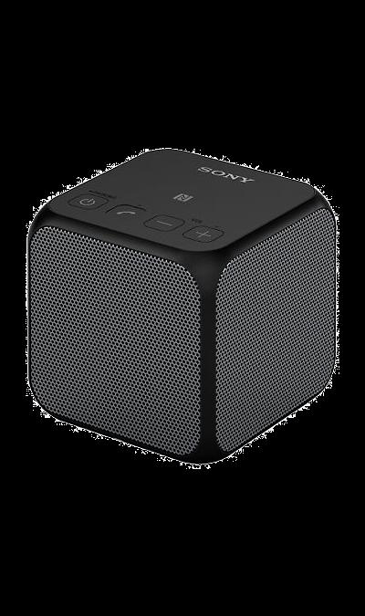 Sony SRS-X11Портативная акустика<br>Мощный звук в компактном кубе.<br>Слушайте музыку в беспроводном режиме до 12 часов и оцените мощное звучание низких нот. Портативная колонка в форме куба SRS-X11 с поддержкой Bluetooth обеспечивает мощный звук, несмотря на свои скромные размеры. Поставьте ее рядом с компьютером или смартфоном или разместите пару таких колонок в комнате перед началом вечеринки для создания мощного стереозвука.<br><br>Разработана для потрясающего звука.<br>Наслаждайтесь музыкой в любом месте в ...<br><br>Colour: Черный
