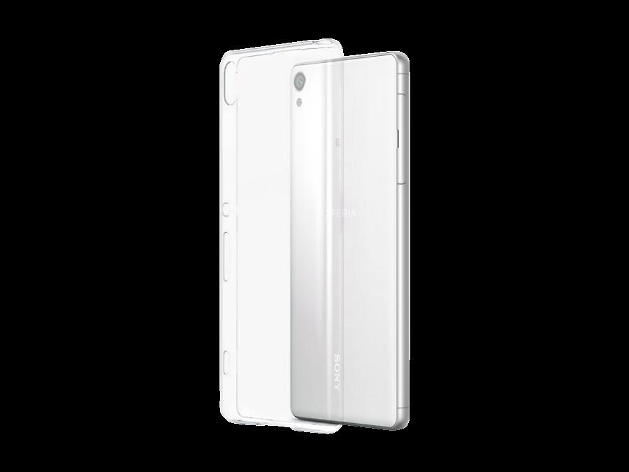 Sony Чехол-крышка Sony для Xperia XA, силикон, прозрачный (оригинальный)