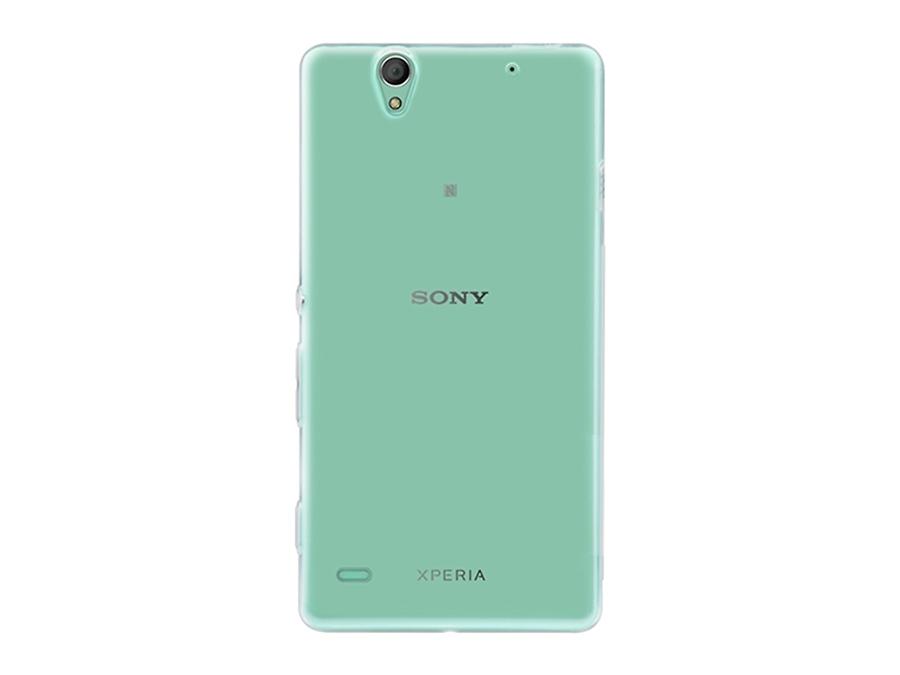 Чехол-крышка IQ Format для Sony Xperia C4, силикон, прозрачный