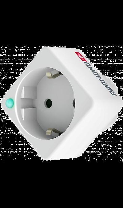 Розетка Redmond SkyPlug 100S (RSP-100S)Умные устройства<br>REDMOND SkyPlug 100S - инновационное устройство, позволяющее создать собственный умный дом из любых бытовых приборов. Ключевая особенность гаджета - возможность управления из любой точки мира. Таким образом, через Smart SkyPlug пользователь управляет бытовой техникой: климатическим оборудованием, мультимедийными системами, освещением и т.д. Также с помощью устройства можно заблокировать приборы, чтобы их не включили маленькие дети.<br>Smart розетка просто подключается к обычной розетке. Пользователю ...<br><br>Colour: Белый