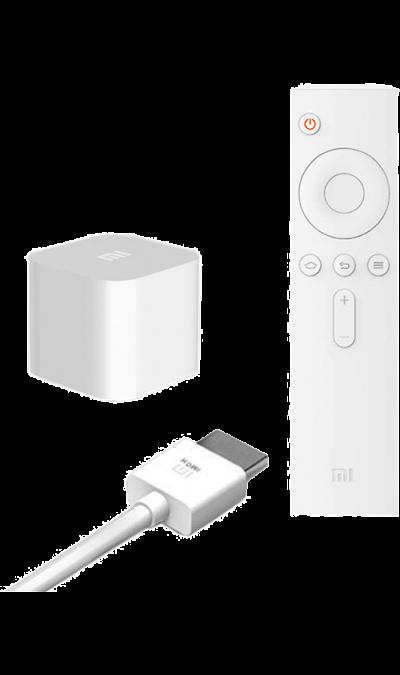 Xiaomi Mi Box miniДругие устройства<br>Телевизионная приставка Xiaomi Mi Box mini является миниатюрным  IP STB стримером. Mi Box Mini состоит из 282 интегрированных электронных компонентов, но при этом представляет из себя устройство размером с сетевой адаптер, через который вы привыкли заряжать свой смартфон и легко помещается в кармане. Внутри Mi Box Mini находится 4-х ядерный процессор MTK8685A, с частотой 1,3 ГГц, 1 ГБ оперативной и 4 ГБ встроенной памяти. Mi box Mini поддерживает стандарты Dolby и DTS Audio, а так же ...<br><br>Colour: Белый