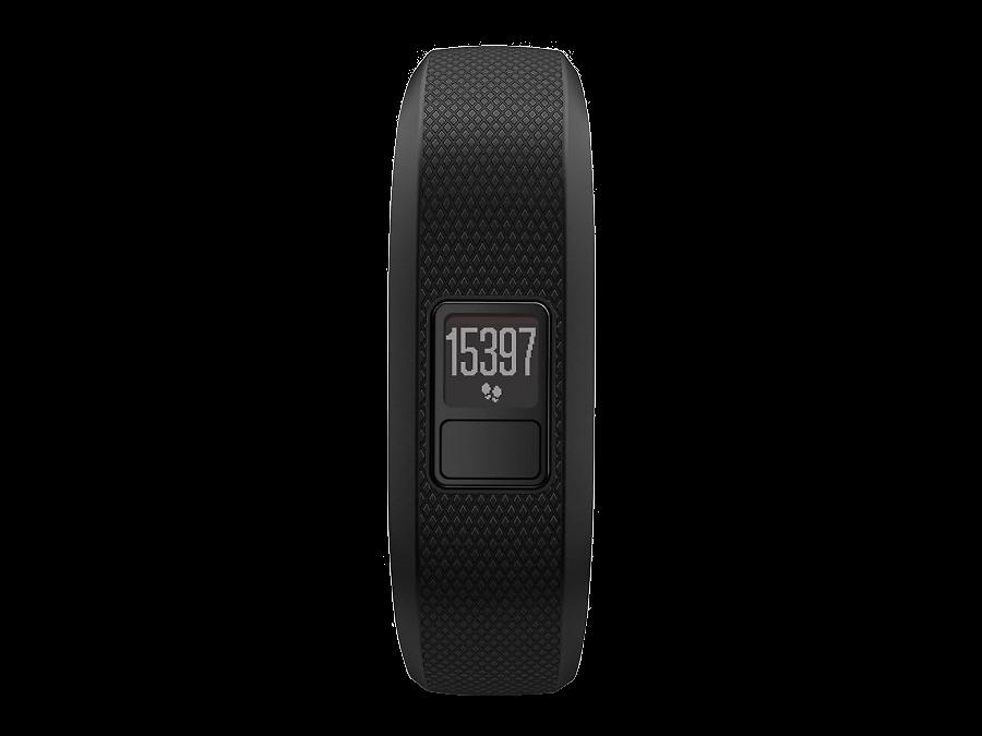 Фитнес-браслет Garmin Vivofit 3 (010-01608-08), черный (размер XL)