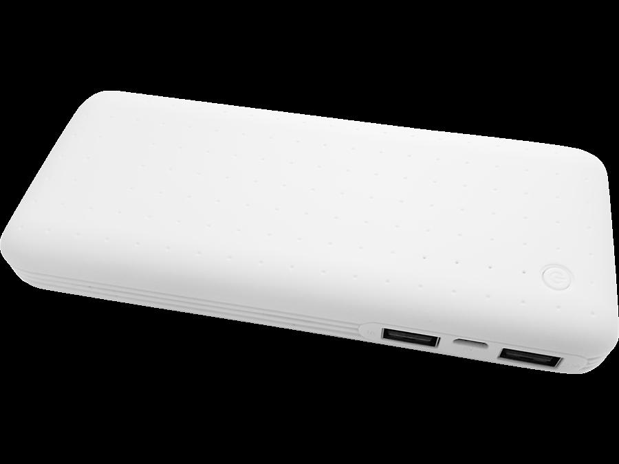 Аккумулятор Continent Power Bank PWB130 - 142WT, Li-Ion, 13000 мАч, белый (портативный)