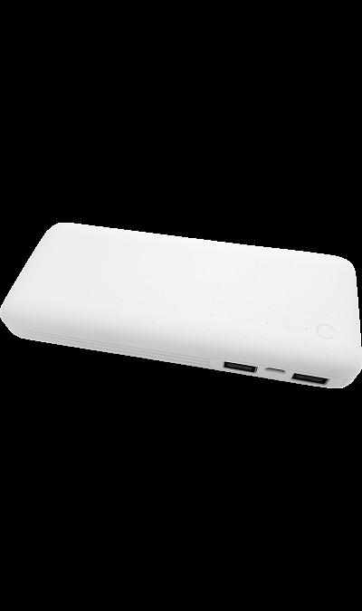 Аккумулятор Continent Power Bank PWB130 - 142WT, Li-Ion, 13000 мАч, белый (портативный)Аккумуляторы внешние<br>Резервный аккумулятор Continent - устройство, предназначенное для зарядки портативных устройств без помощи электрической сети. Особенно актуален для путешественников и туристов в местах, где невозможен или ограничен доступ к электроэнергии. Резервный аккумулятор подходит для портативных устройств, таких как смартфоны, планшеты, мобильные телефоны и МР3-плееры.<br><br>Colour: Белый