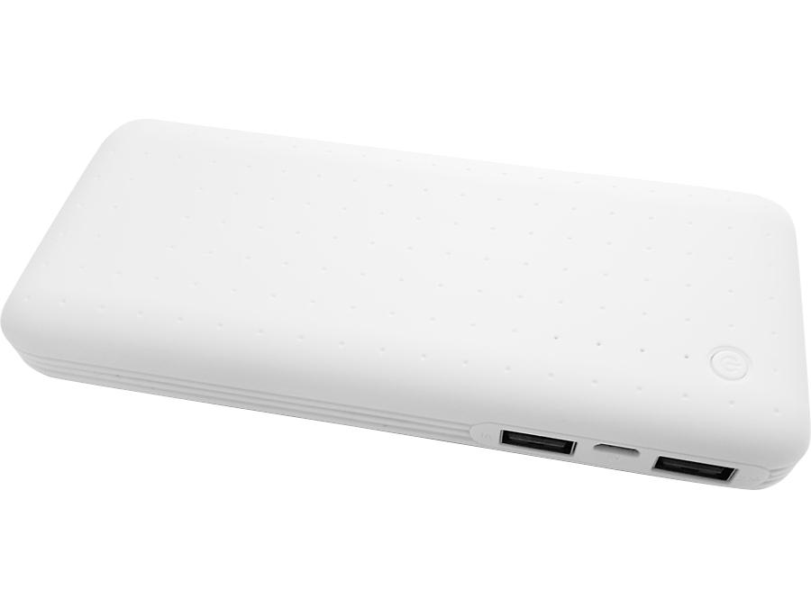 Аккумулятор Continent Power Bank, Li-Ion, 13000 мАч, белый (портативный)